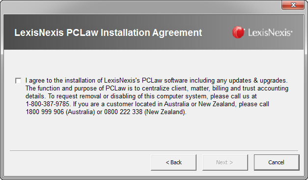 Reinstalling The Pclaw Software On One Workstation