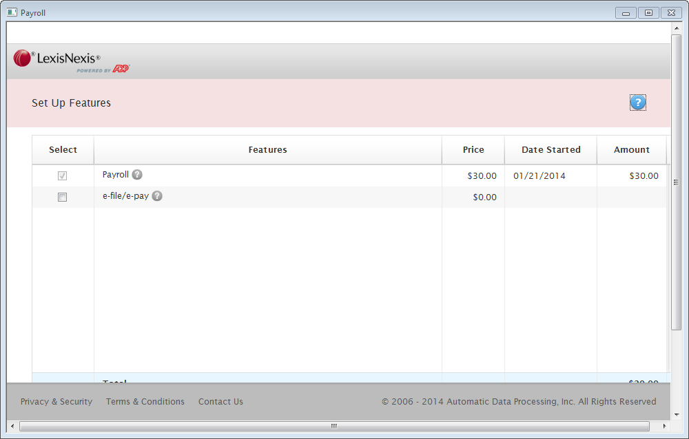 Create your ADP Account